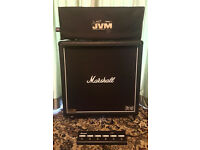 100W Marshall JVM410H and 1960b Cab
