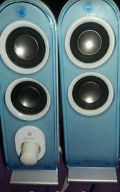 2.1 stereo/computer speakers