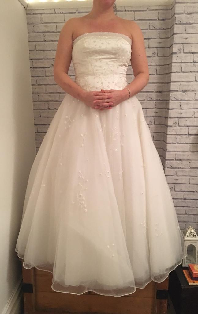 Strapless Princess style wedding dress size 12 | in Bournemouth ...