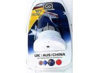 Go Travel UK to Australia China Adaptor New