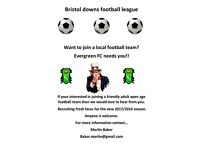 Football players wanted!!