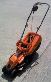 BLACK+DECKER 1200W Edge-Max Lawn Mower - 32 cm Cut/ 35 L Box