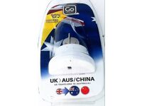 Go Travel UK to Australia China Adaptor