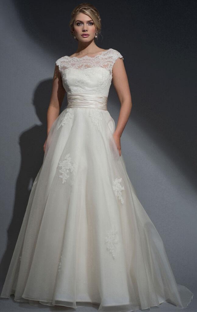 louise bentley silk organza u0026 lace aline wedding dress be21 frederica