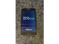 Samsung Galaxy s5 unlocked excellent condition
