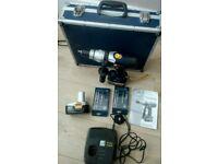 14.4 volt complte drill set in box