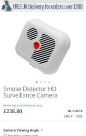 Smoke alarm hidden camera