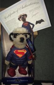 Meerkat Superman Teddy