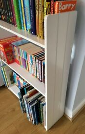 Quality White book shelves, suitable for kids or adults.