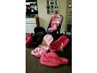 Oyster pushchair/pram + lots of extras