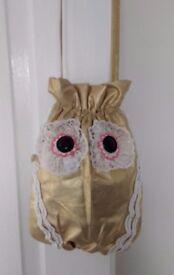 Cute Golden Owl Handbag