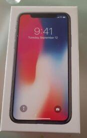 iPhone X TEN 256GB silver unlocked 256 GB