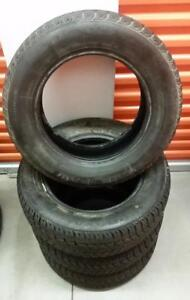 (H73) Pneus Hiver - Winter Tires 185-65-14 Uniroyal 10/32