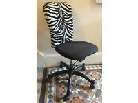 'Office' desk chair on roller wheels