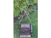 VINTAGE JP MAXEES PUSH ALONG LAWN MOWER MK 2 (PROJECT)