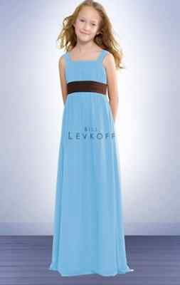 Bill Levkoff Junior Bridesmaid Dress 38002 Chiffon Gown NEW Flower Girl Bill Levkoff Junior Bridesmaid Dresses