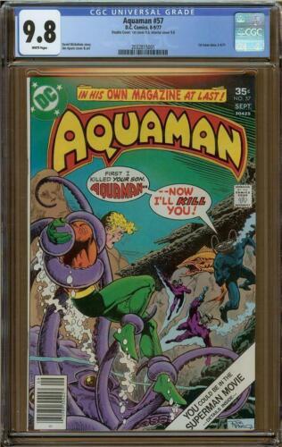 Aquaman #57 CGC 9.8 Double Cover