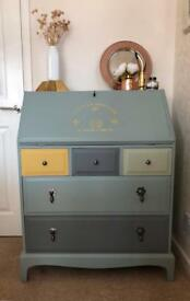 Vintage Bureau with Drawers REDUCED