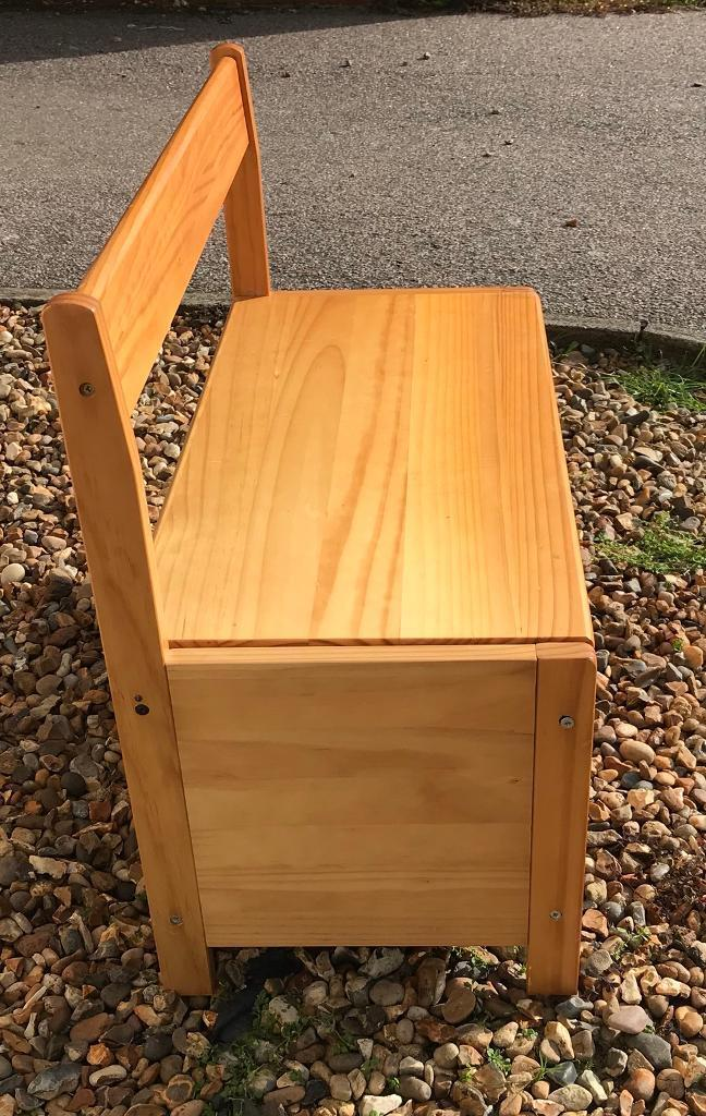 Wondrous Wooden Ottoman Bench Seat In Norwich Norfolk Gumtree Theyellowbook Wood Chair Design Ideas Theyellowbookinfo