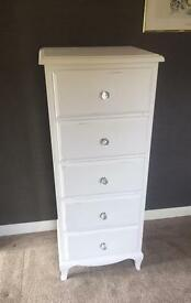 Tall boy drawer unit