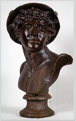 Hermes Merkur Petasos Gusseisen  Klassik Antike Park