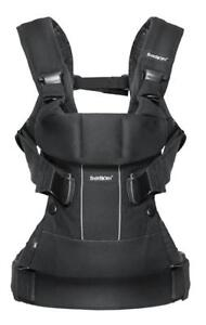 NEW BabyBjorn Baby Carrier One-Black, Cotton Mix
