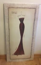 Vintage dress picture