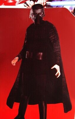 Mens Adult KYLO REN Star Wars The Last Jedi Halloween Costume Mask M L Purim NEW