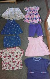 Girls 14 item bundle 18-24 months