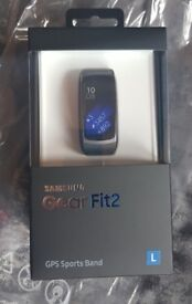 Samsung Gear Fit 2 - Brand new, sealed in box