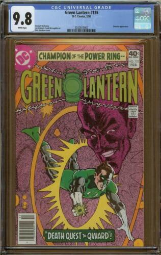 Green Lantern #125 CGC 9.8 Sinestro