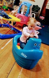 Registered childminder with 1 full time/pt space from 6months+ mon-fri 7.30-5pm