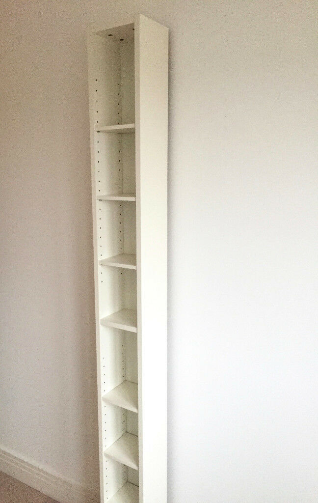 Ikea White DVD / CD Storage Display Rack Case Unit