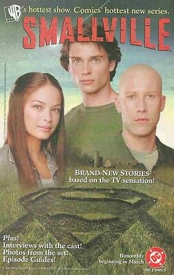 Smallville: Lana Lang, Clark Kent & Lex Luthor: Great Original Photo Print Ad!