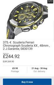XXL Ferrari Chrono watch!!!