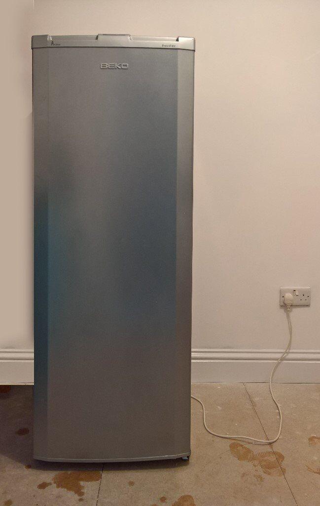 Beko Upright Freezer Silver In Whiteley Hampshire