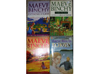 Maeve Binchy books, 50p-£1 each