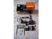 Nikon D5300 Camera with Nikon 18-70 lens for sale.