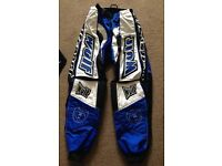 Wulf motocross trousers and top