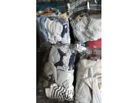 Boys 0-3 Months Clothes Assortment. Over 120 Items!!! See Details & Pi