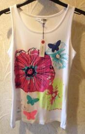 NWT M&S Autograph Sleeveless Top, Age 13