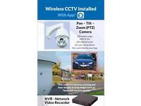 Wireless monitored CCTV