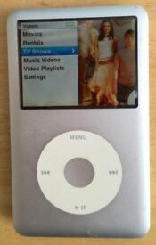 IPod Video Classic 80GB 6th Generation silver