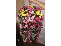 handmade artificial hanging baskets for sale