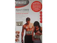Homedics sport EMS toning Abs belt & pads brand new in box