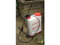 BRAND NEW NEVER BEEN USED, 16 l backpack pump sprayer (for weedkiller or fertiliser)