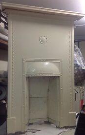 Reclaimed /Vintage /Decorative Cast Iron Fireplace