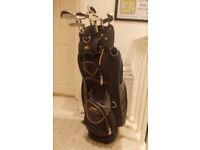 Golf Clubs & Bag Powakaddy Bag Slazenger Panther clubs / Dunlop / Ryder Low Pro / Jaguar Clubs