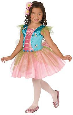 NEW DRAGONFLY BLUE with FAIRY WINGS HALLOWEEN COSTUME Child Girls size S 4-6 - Blue Fairy Halloween Costume