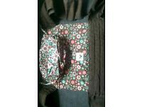 Mei Tai sling with hood/ baby ergonomic carrier